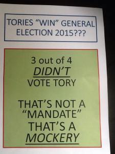 not a mandate a mockery_deborah