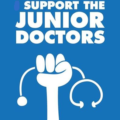 Support the Junior Doctors - Image Copyright NHS UK