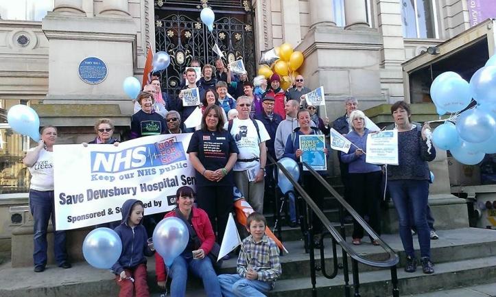 Scott Eastwood photo Walk 4 NHS Dewbsury Town Hall