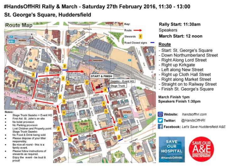 handsoffhri-huddersfield-march-route