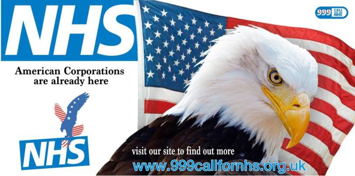 NHS American corporations are already here