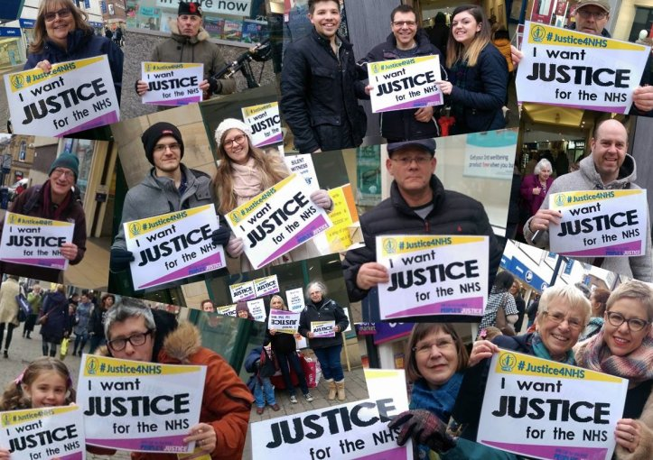 we want justice 4 NHS_montage