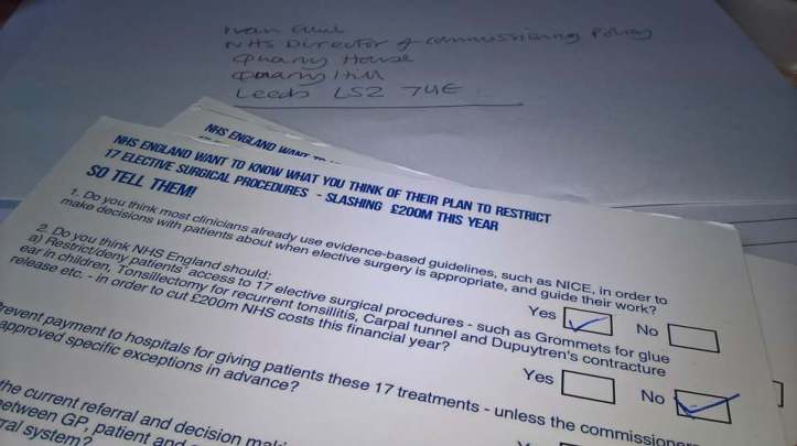 posting responses 999 17 elective cuts consultation