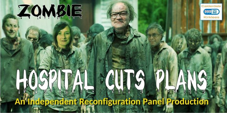 zombie hospital cuts plans_yellow text